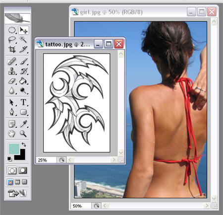 How to: get a tattoo done in Photoshop