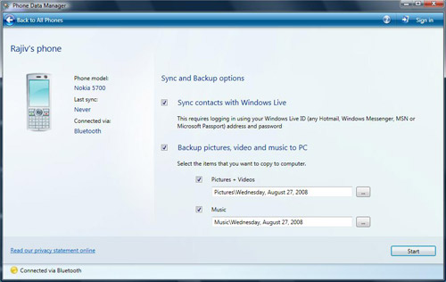 Syncing your phone with your PC has never been easier