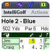 Keep track of your golf scores