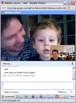 Video chats enabled in Google Talk