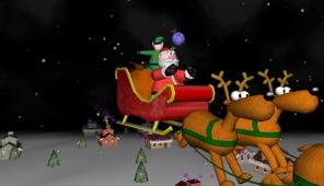 A Very 3D Christmas Screen Saver