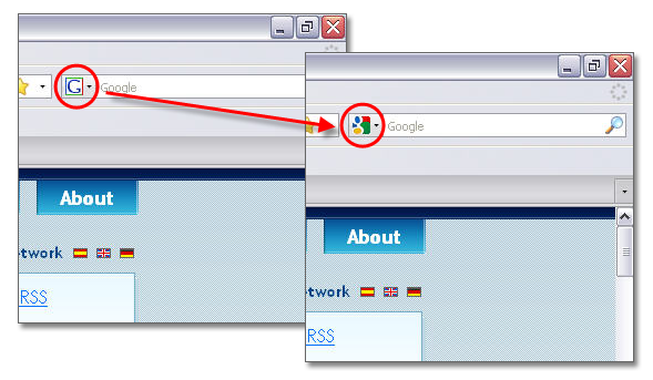 Update Google's favicon on Firefox search plug-in