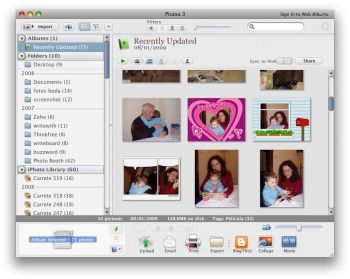 Could Picasa knock iPhoto into touch?