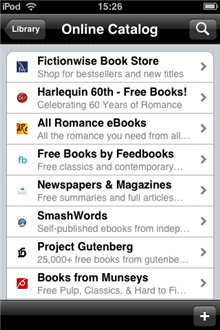Turn your iPod or iPhone into an ebook reader
