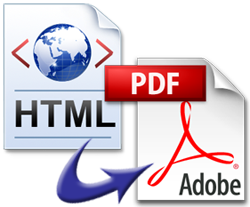 how to convert webpages to PDF