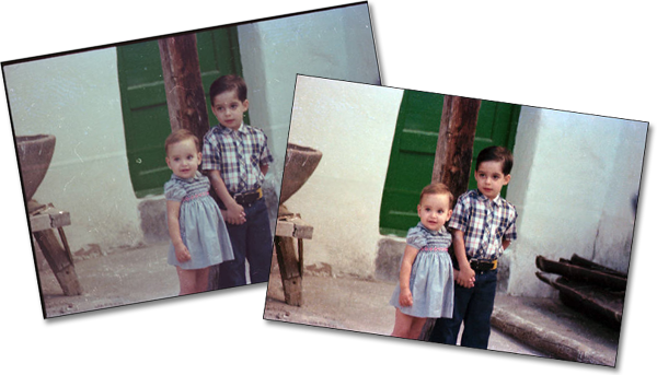 How to: Repair old photos with Photoshop