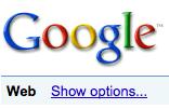search options screenshot