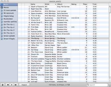 iPodRip screenshot