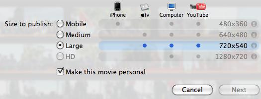 iMovie screenshot 5