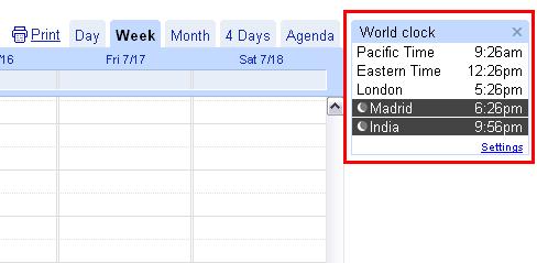 First look at Google Calendar Labs