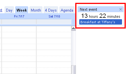 First look at Google Calendar Labs
