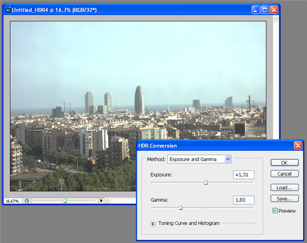 How to: create an HDR image in Photoshop