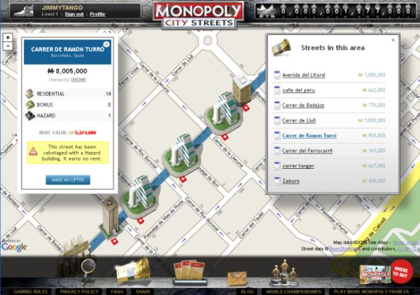 Play Monopoly 'for real'