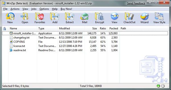 First look at WinZip 14 Beta