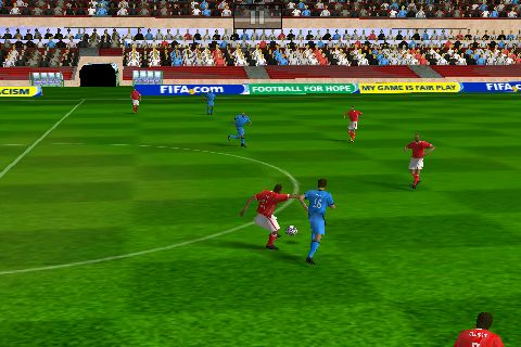 FIFA brings all the real players to your iPhone