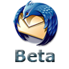 Thunderbird 3 Beta logo