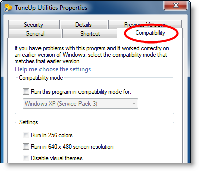 Windows 7 compatibility issues