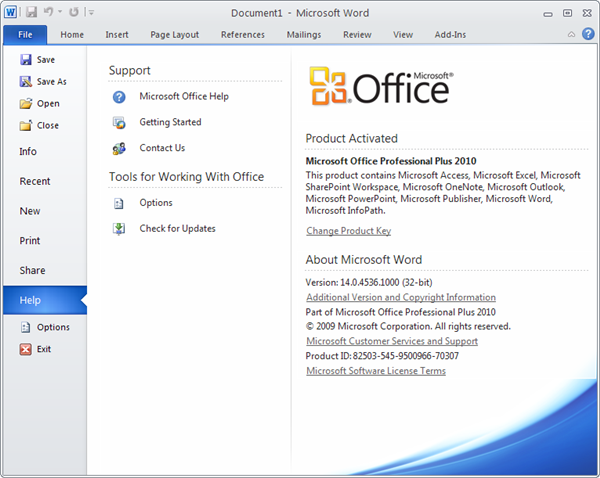 Microsoft Office 2010 Beta Available For