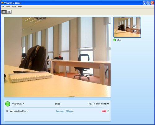 Turn your webcam into a free yet effective surveillance system