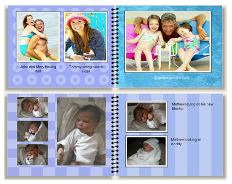 create a custom calendar with your photos