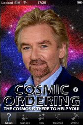 Noel Edmonds Comsic Ordering