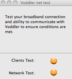 Voddler speed test