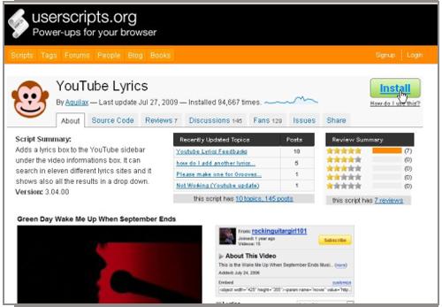 YouTube Karaoke1
