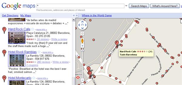 Google Maps Labs