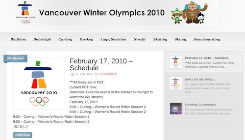 watchvancouverolympics.com