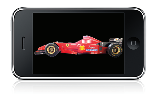 iPhone racing app