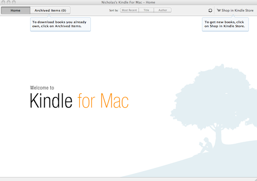 kindle for mac 1