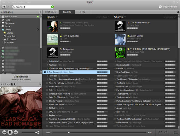 how to see where your spotify is being used