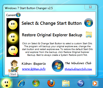 change exe icon windows 7