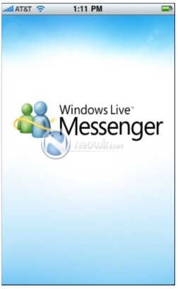 Windows Live for iPhone