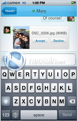 Windows Live for iPhone 3