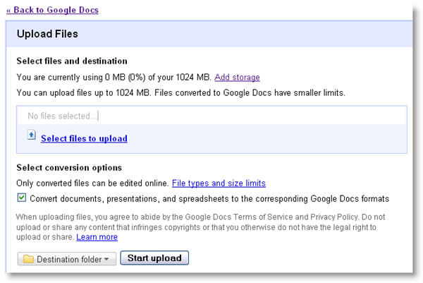 Office Web Apps vs. Google Docs