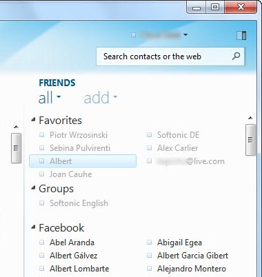 New features in Windows Live Messenger 2010
