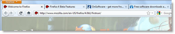 Firefox 4 Beta available for download