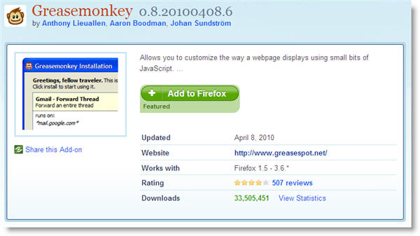 Greasemonkey: What is it? How do you use it?
