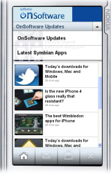 OnSoftware mobile app