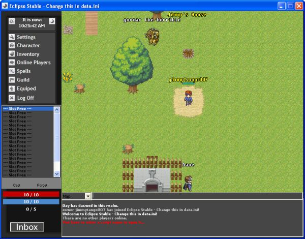 how to make your own rpg games using eclipse