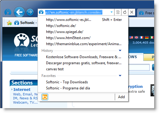 First look at Internet Explorer 9 Beta