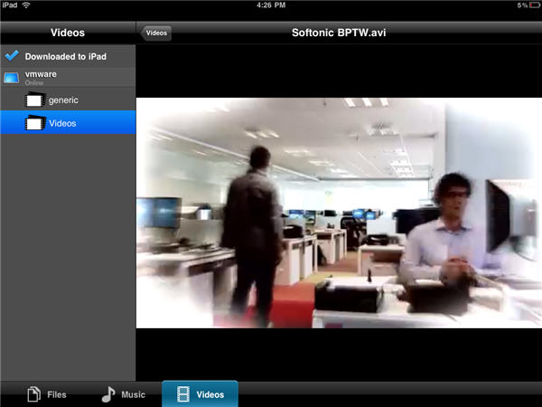 How to: Stream media content from your PC to the iPad