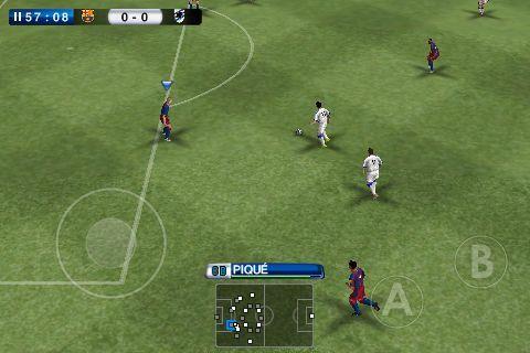 PES gameplay
