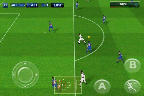 Real Soccer gameplay