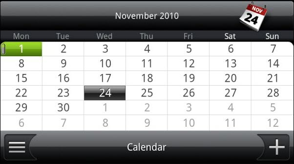 Android Calendar