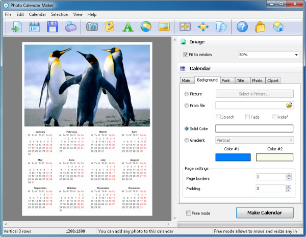 Calendar Design Maker : How to create a calendar for