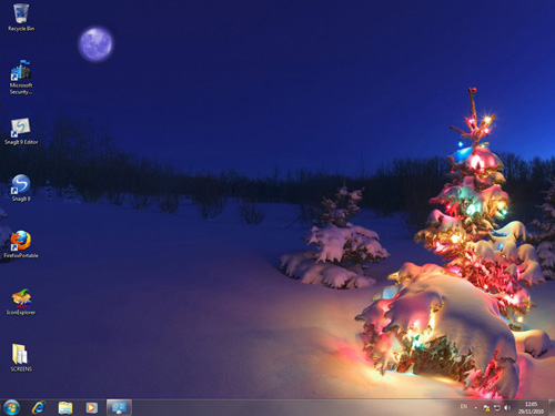 christmas themes background computer