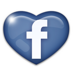 Facebook love icon