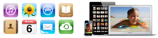 Apple iCloud features